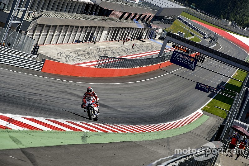 Letzte Kurve am Red Bull Ring für MotoGP modifiziert