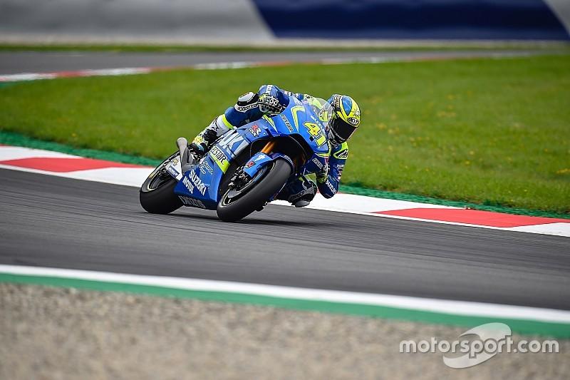 Suzuki-MotoGP-Pilot Aleix Espargaro mit leichter Fingerfraktur
