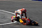 Galería: Así fue la caída de Márquez en Austria