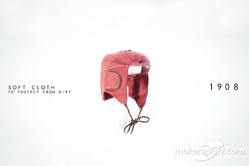 Video: evolución de los cascos de carreras