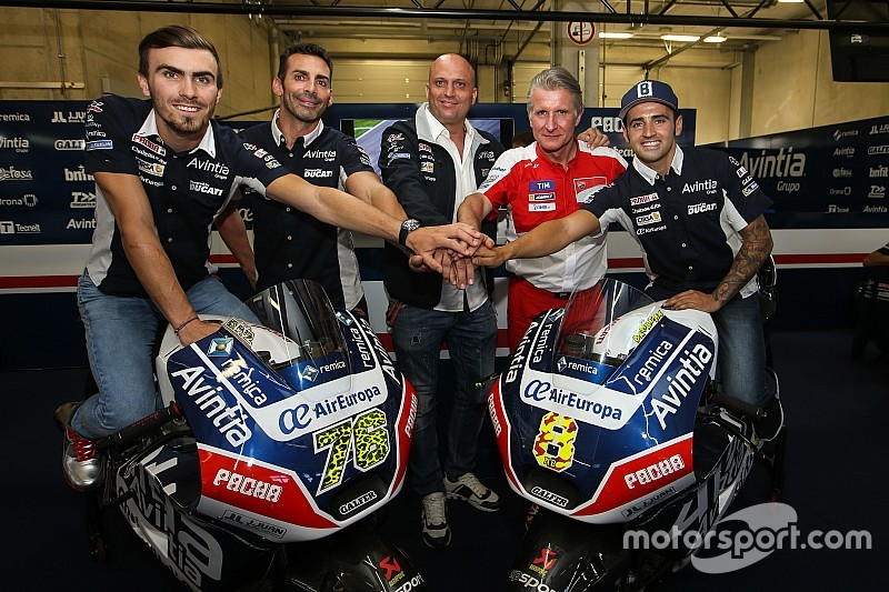 Barbera und Baz bleiben 2017 bei Avintia Racing in der MotoGP
