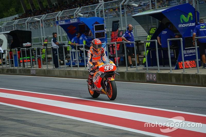 マルケス「ライダーが自身で判断を下すのが、MotoGPの魅力」
