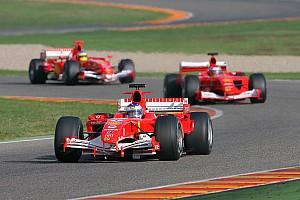 Формула 1 Ностальгія 2009 – Сподівання Ferrari на третій болід для Шумахера