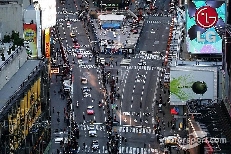Formel E in New York: Wird der Termin wegen der WEC verschoben?