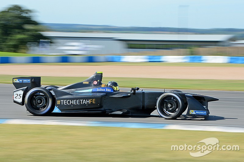 Vergne bate el récord de vuelta de la Fórmula E en Donington Park