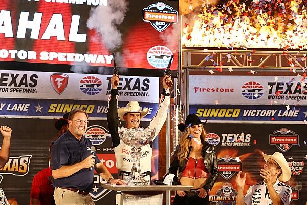 IndyCar Rahal vence por ocho milésimas en Texas