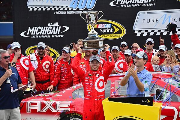 NASCAR Sprint Cup Kyle Larson suma su primera victoria en  Copa Sprint