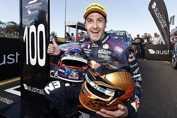 Supercars Sydney: Jamie Whincup holt 100. Sieg und verteidigt Tabellenführung