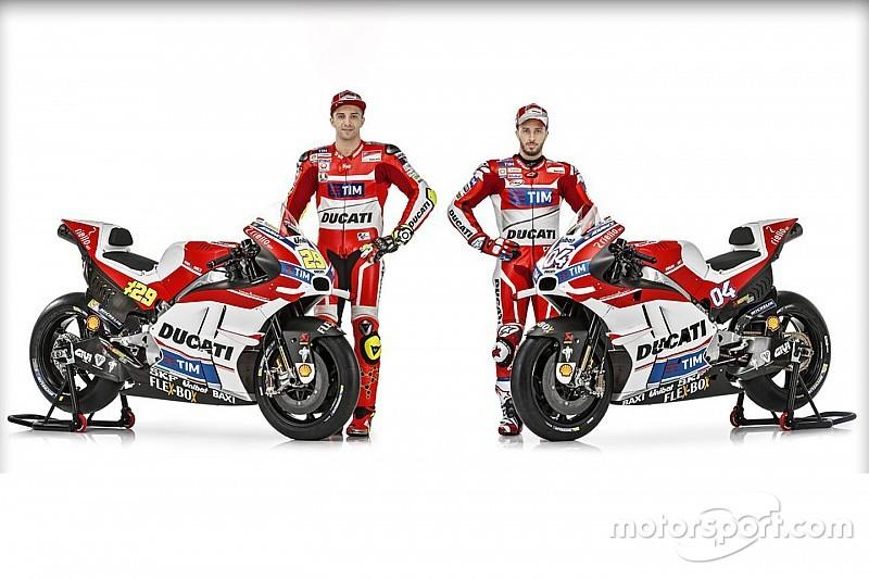 Ducati resmi perkenalkan Desmosedici GP 2016