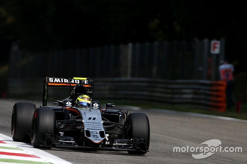 Formel 1 in Monza: Sergio Perez