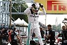 Hamilton iguala a Fangio y a Senna en Monza