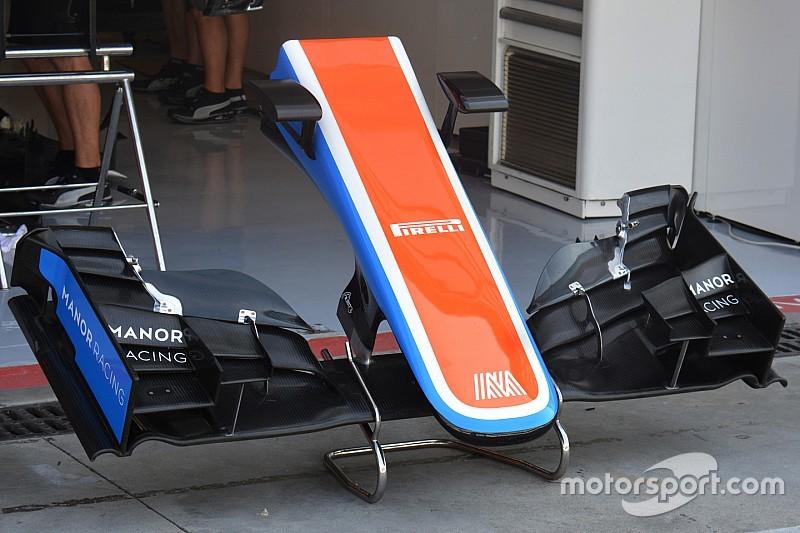 Breve análisis técnico: alerón delantero Manor MRT05