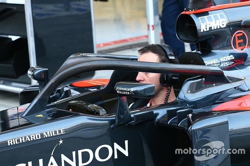 Alonso y Hamilton probarán el Halo en Singapur