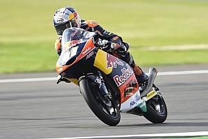Moto3 Gara Binder fulmina Bagnaia e Bendsneyder vincendo in volata a Silverstone
