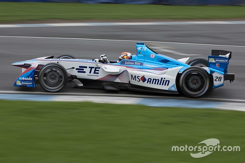 Bildergalerie: Formel-E-Tests in Donington