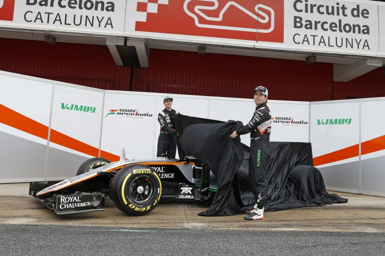 Képeken Hülkenberg és Perez 100. versenyének ünneplése! Alonsoék is ott voltak!