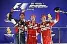 Vettel arca, mikor megtudja, hogy Räikkönen és Ricciardo előtte van a pontversenyben!