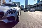 Életképek Bakuból: egyre több az F1-es cucc a pályán