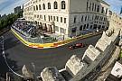 Nagyszabású show a bakui rajt előtt - F1 azeri színekben!
