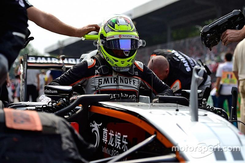 Sergio Pérez desea mantener la suma de puntos en Singapur