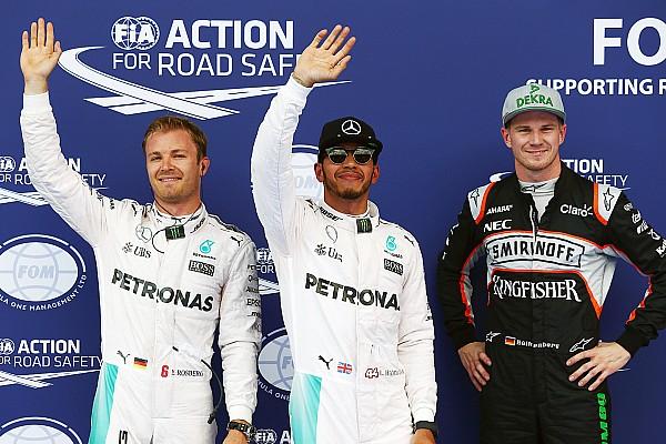 GP Austria: Hamilton di posisi pole, Hulkenberg dan Button menjadi bintang disesi ini