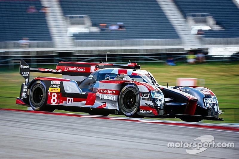 WEC 6h Austin: 3. Trainingsbestzeit für Audi