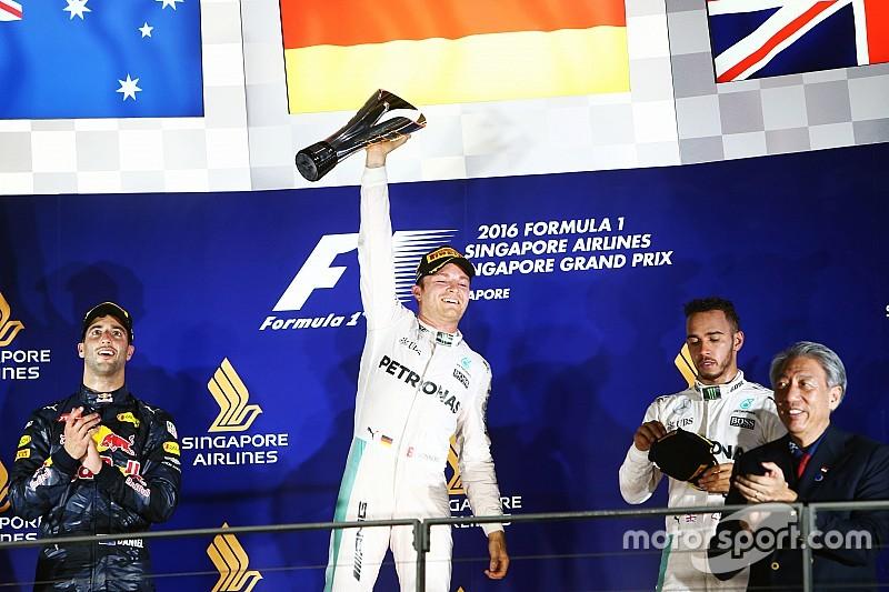Resultados del GP de Singapur