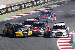 Rallycross-WM Rennbericht WRX in Barcelona: Mattias Ekström siegt und übernimmt WM-Spitze