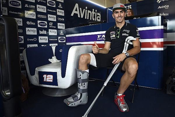 イギリスGPで右足骨折のバズ、アラゴンGPで復帰へ