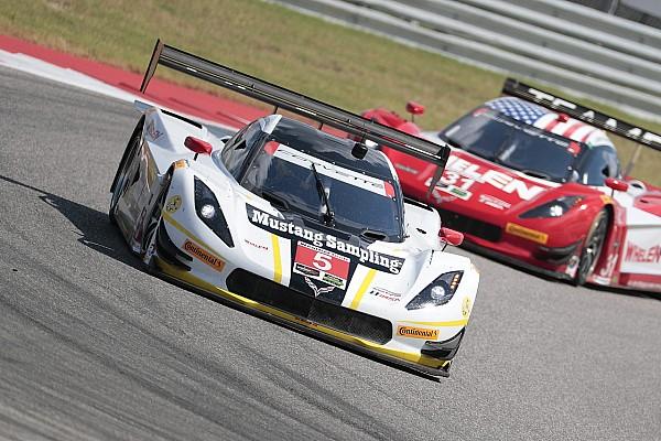 IMSA Pagenaud au départ du Petit Le Mans