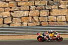 Eerste vrije training GP Aragon: Marquez topt voor Rossi