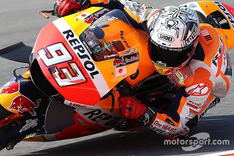 MotoGP in Aragon: Valentino Rossi jagt Marc Marquez