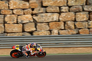 MotoGP Отчет о тренировке Педроса закончил лидером первый день ГП Арагона