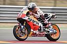 Veel crashes in derde training GP Aragon, Marquez aan kop