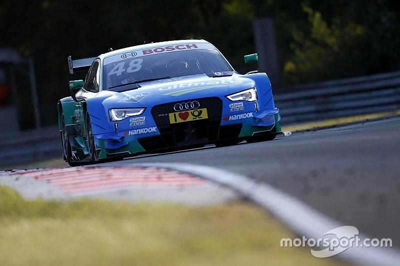 Гонщики Audi заняли первые восемь мест в квалификации на Хунгароринге