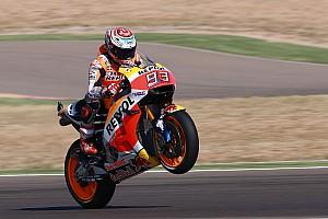 MotoGP Kwalificatieverslag Marquez klasse apart in kwalificatie Grand Prix van Aragon