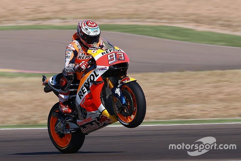 Marquez klasse apart in kwalificatie Grand Prix van Aragon