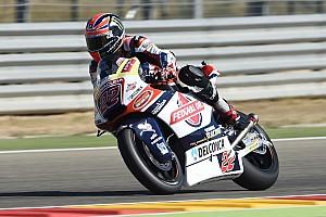 Moto2 Relato da corrida Tranquilo, Lowes vence em Aragón; Morbidelli é 3º