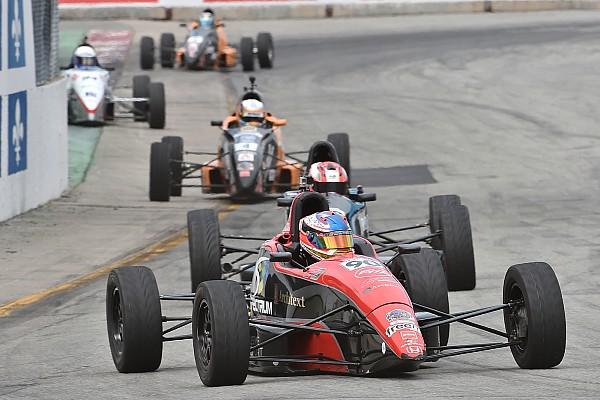 Formule 1600 Trenton Estep balaie le championnat de Formule 1600