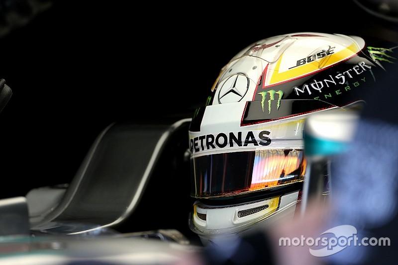 """Hamilton: """"Giornata senza problemi, siamo in una buona posizione"""""""