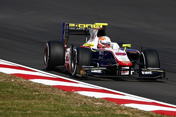 Гьотто одержал победу во второй гонке, Гасли добрался до подиума
