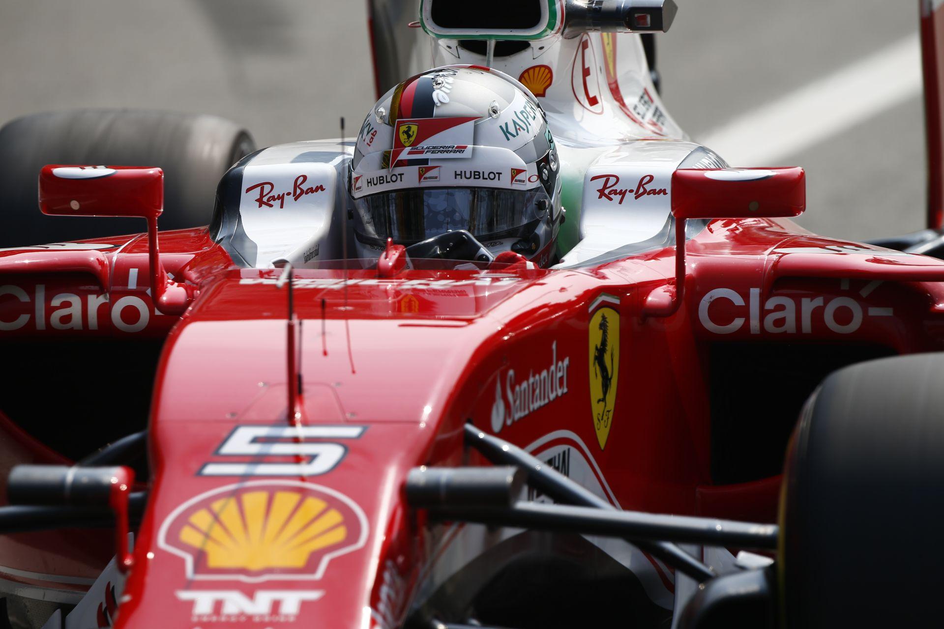 Vettel pár percre visszahozta az igazi Forma-1-et a Ferrarival
