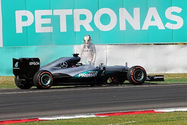 Motorschaden bei Lewis Hamilton: Mercedes weiterhin auf Fehlersuche