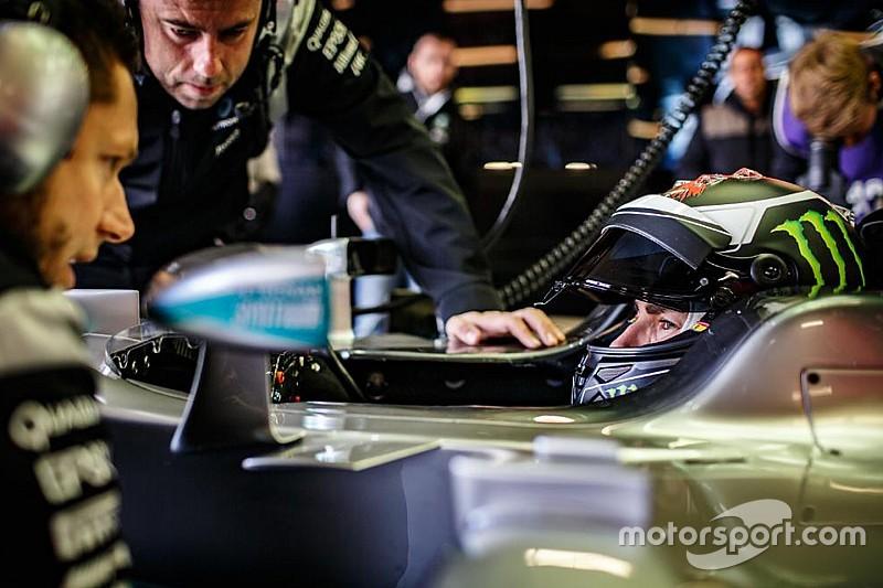 Lorenzo realizza il suo sogno: ha provato la Mercedes di Hamilton