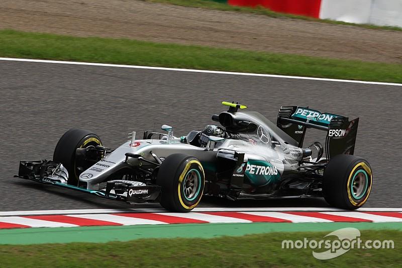 Rosberg alla trentesima pole a Suzuka, con Raikkonen terzo!