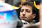 Ricciardo, desconcertado por la diferencia de velocidad respecto a Verstappen