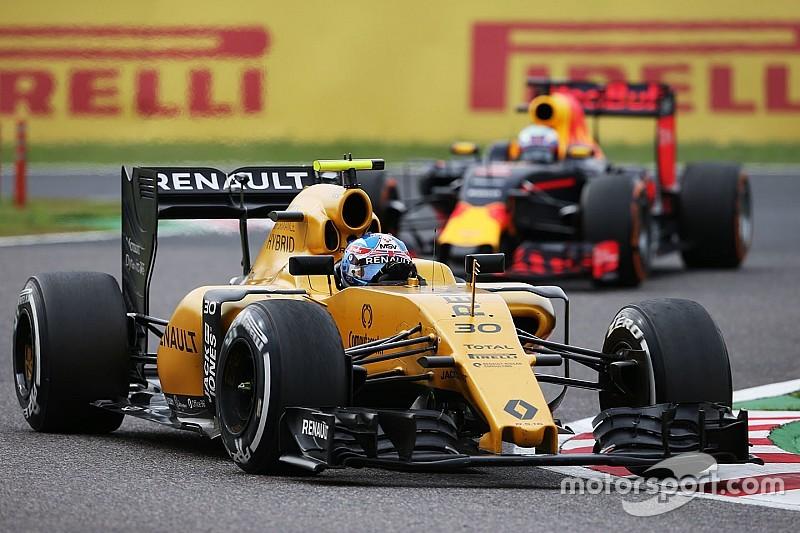 Palmer, satisfecho por el progreso de Renault