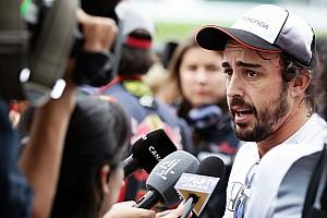 F1 Noticias de última hora Alonso lamenta no haber podido probar los neumáticos de 2017