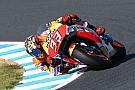 Marquez voor Dovizioso en Viñales in warm-up GP Japan