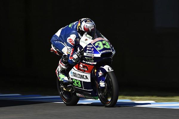 Moto3 Motegi: Bastianini raih kemenangan dramatis